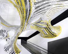 Marc Fornes / THEVERYMANY Installations Transform INRIA