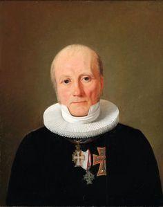 constantin hansen | Constantin Hansen (1804-1880): Portrait of Chaplain-in-Ordinary ...