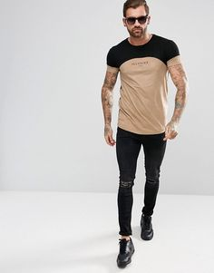 Buy Illusive London Muscle T-Shirt In Stone Suedette at ASOS. With free delivery and return options (Ts&Cs apply), online shopping has never been so easy. Get the latest trends with ASOS now. Muscle T Shirts, Fashion Online, Asos, Hipster, Sporty, Mens Fashion, London, Stone, Fall
