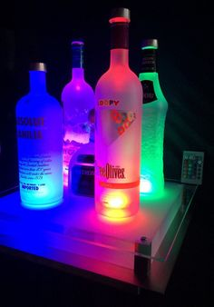Bottle Lamps - Are you looking for a gift for that hard to buy person? All the bottle crafts sold are hand made, unique crafts. Liquor Bottles, Vodka Bottle, Festa Jack Daniels, Smirnoff, Absolut Vodka, Alcohol Aesthetic, Diy Shows, Bad Girl Aesthetic, Bottle Lights