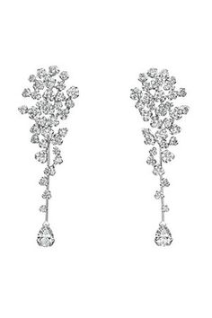Chanel Cascade Diamond Earrings Profile Photo