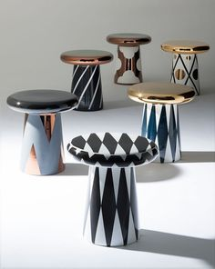 Mesas T-table para Bosa, design de Jaime Hayon
