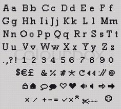"""Buy the royalty-free Stock image """"Alphabet, Letter and Icrons Cross-stitch hand crafted."""" online ✓ All image rights included ✓ High resolution picture f. Cross Stitch Letter Patterns, Cross Stitch Letters, Cross Stitch Designs, Stitch Patterns, Cross Stitch Font, Cross Stitch Numbers, Loom Patterns, Small Cross Stitch, Beaded Cross Stitch"""