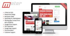 Motor - Vehicle Marketplace Responsive Template (Retail)