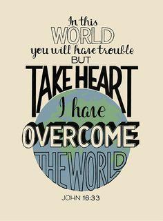 John 16:33 Scripture Verses, Bible Verses Quotes, Bible Scriptures, Faith Quotes, Healing Scriptures, Bible Art, Kelsey Rose, John 16 33, Give Me Jesus
