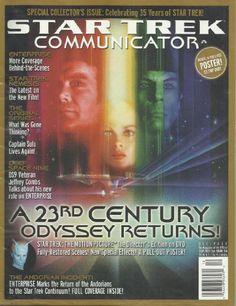 Star Trek Communicator Magazine Special Collectors Issue 136 35th Anniversary William Shatner Leonard Nimoy Spock Kirk C @ niftywarehouse.com #NiftyWarehouse #StarTrek #Trekkie #Geek #Nerd #Products