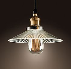 Oh look!  Restoration Hardware has almost the same thing as your 2 dollar pendants!
