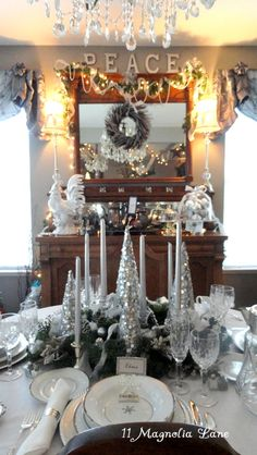 Christmas holiday home tour--so many wonderful decor ideas ...