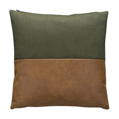 Demi kussen Bodilson groen/cognac - Bestel hem hier! Chill Room, Hm Home, Pillow Fight, Interior Decorating, Interior Design, Green Rooms, Living Styles, Cushions, Pillows