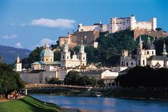Salzburg's Old Town and Fortress (Photo/Tourismus Salzburg)