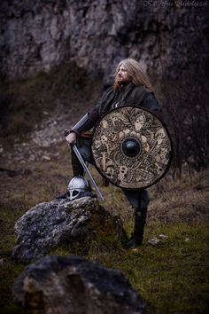 "Shield ""Valkyrie"" made by Black Forest Forge / Photo: Katarzyna Mikołajczak"