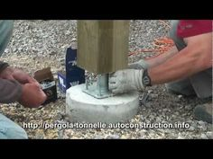 Adding Bracket On Concrete Footer Finishing Sonotube