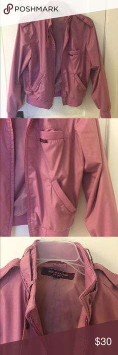 Vintage jacket Mauve vintage bomber jacket. Fits like a size small Madewell Jackets & Coats