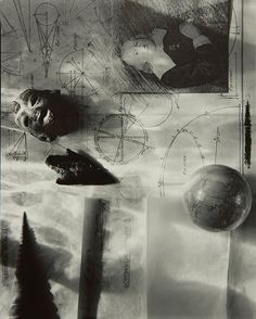 """Olivia Parker (American, b. """"Circumnavigation,"""" gelatin silver print, titled, signed and dated lower lef. on Mar 2014 Artistic Photography, Light Photography, Olivia Parker, Still Life Photographers, Gelatin Silver Print, Still Life Art, Fine Art Photo, Photomontage, Artist At Work"""