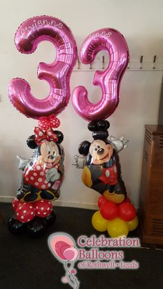 Beautiful Children's birthday balloons for Leeds, Wakefield and surrounding areas from www.rothwellballoons.co.uk