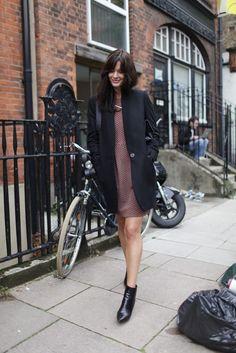 London Fashion street style. [Photo by Kuba Dabrowski]