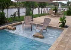 small inground pool - Bing Images
