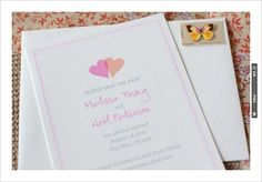 #free printables,  monogram, ,  Save the Date, Save the Date, , Two Hearts, $0 | CHECK OUT MORE IDEAS AT WEDDINGPINS.NET | #printableweddingtemplates