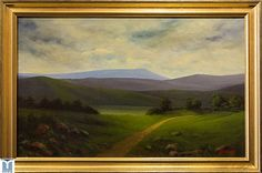 To the Wilds, original oils on canvas by Jesus F. Moreno