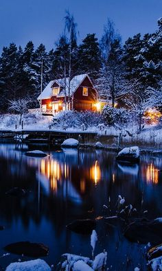 Lake House,Norway