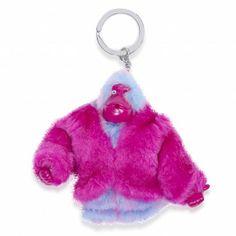 #gift #idearegalo #portachiavi Kipling Fur Coat Monkey scimmietta peluche portachiavi con pelliccia