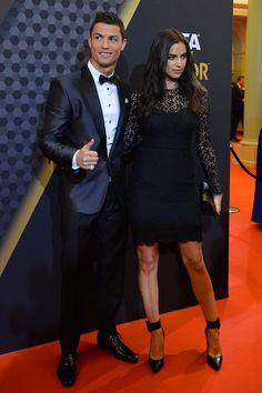 Cristiano Ronaldo e Irina Shayk - Gala del Balón de Oro