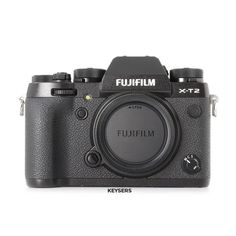 The #Fujifilm X-T2 Body features a 24.3MP sensor and #4K Video capability. #DocumentYourDays Nikon Lens, Used Cameras, Camera Equipment, Black Body, Leica, Fujifilm, Binoculars, Digital Camera