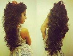 Long & Curly