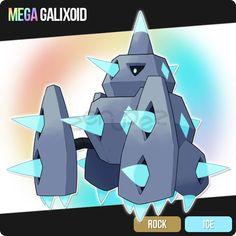 038 Mega Galixoid by zerudez
