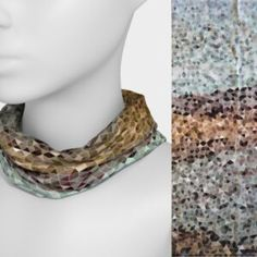 Scarves – Page 2 – u can wear it Tube Scarf, Wearable Art, Crochet Necklace, Scarves, How To Wear, Accessories, Jewelry, Fashion, Scarfs
