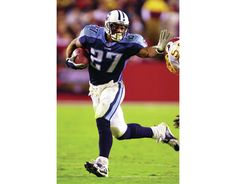 Former Tennessee Titans running back Eddie George has accomplished many things since his football career ended. Eddie George, New Titan, Heisman Trophy, Ohio State University, Tennessee Titans, Running Back, Football Helmets, Nfl, Actors