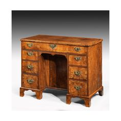 """88 Likes, 4 Comments - Windsor House Antiques (@windsor_house_antiques) on Instagram: """"Mid 18th century walnut kneehole desk 7531 #antiques #furniture #desk"""""""