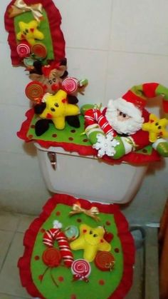 Handmade Christmas Crafts, Christmas Door, Christmas Things, Christmas Lingerie, Christmas Cushions, Xmas Ornaments, Chair Covers, Dish Towels, Merry And Bright