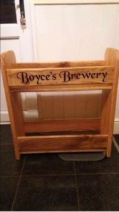 Wine rack. Caters for 24 bottles. Personalised  Any shape size or design