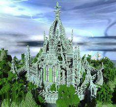 Image result for elven buildings minecraft