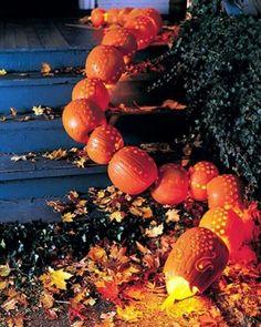 martha stewart pumpkin decorating ideas | Martha Stewart Halloween Decorating Ideas