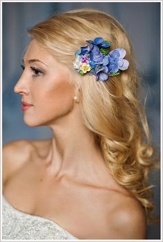 Fiona hair piecefrom Fancy Bowtique Bridal Couture