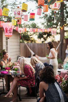a lantern lit soirée with women & whiskies. / sfgirlbybay