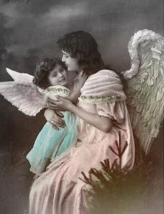 Vintage Rose Album  angel / fairy