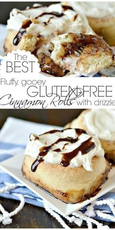 Gluten Free Cinnamon Roll Recipe These Truly Are The Best Gluten-Free Cinnamon Rolls They Are Soft, Fluffy And So Full Of Ooey, Gooey Deliciousness. I Promise You Will Never Find A Better Gluten-Free Cinnamon Roll Out There This Vivacious Life Easy Gluten Free Desserts, Gluten Free Donuts, Gluten Free Recipes For Breakfast, Best Gluten Free Recipes, Gluten Free Breakfasts, Gluten Free Cakes, Gluten Free Baking, Keto Desserts, Baking Recipes