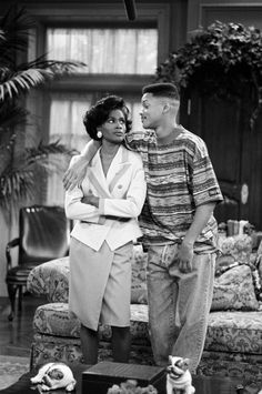 Will Smith & Janet Hubert on The Fresh Prince of Bel Air