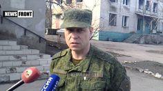 Басурин про обстановку в Зайцево после обстрела со стороны украинских ка...