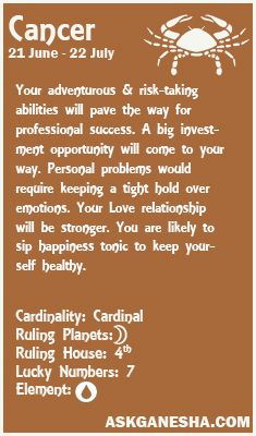 january 7 cancer daily horoscope