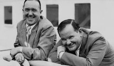 Laurel and Hardy. Stan Laurel Oliver Hardy, Laurel Und Hardy, Great Comedies, Classic Comedies, Comedy Acts, Comedy Films, Lauren Hardy, Beatiful People, Trip The Light Fantastic