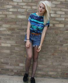diy tie dye striped shirt