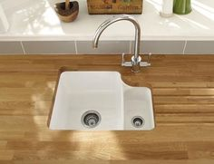 Bon Lamona Ceramic 1.5 Bowl Undermount Sink