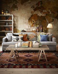Westham 3-sits soffa XL i tyg Kiss sand från Mio.