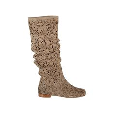 perforated summer boots