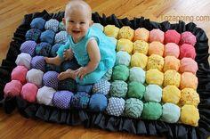 Hacer un tapete de juegos para bebé. Como hacer un tapete de juegos. Los bebés necesitan un tapete de juegos, esperamos que este tutorial,de hacer un tapete