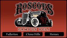 Welcome to Roscoes Famous Deli and Heroes Restaurant - Chino Hills, ca